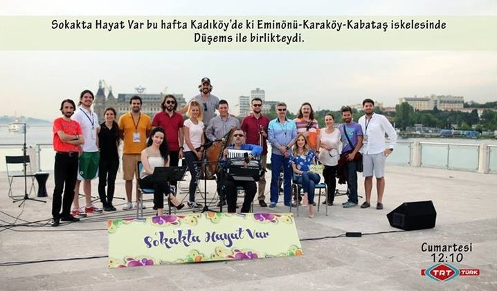 Dü-Şems Ensemble TRT TÜRK'te